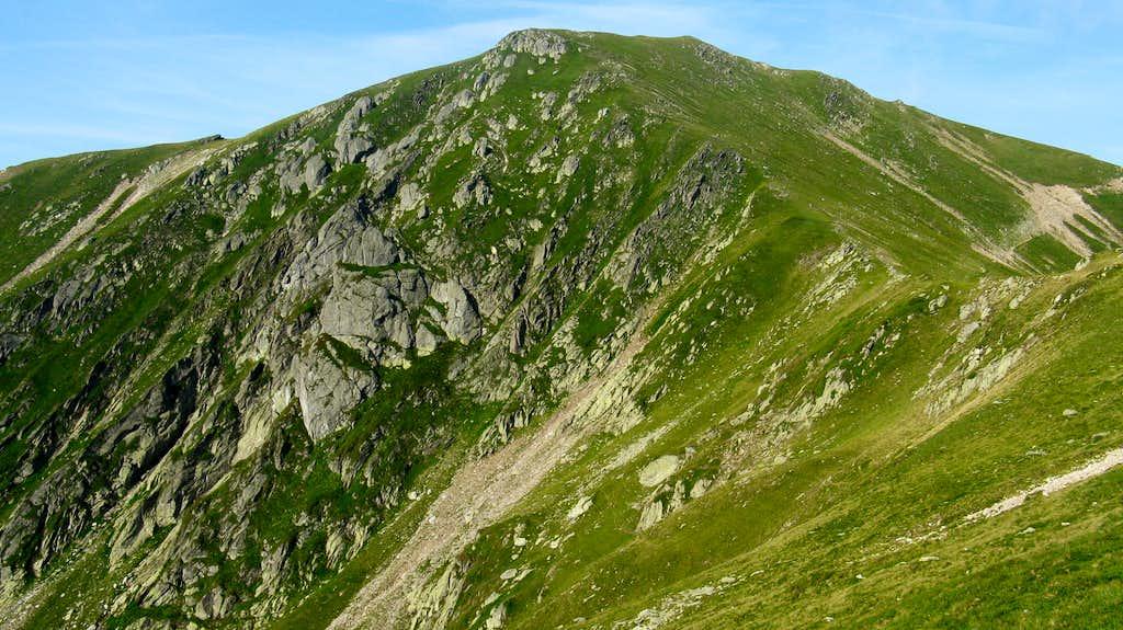 Godeanu summit (2229m)