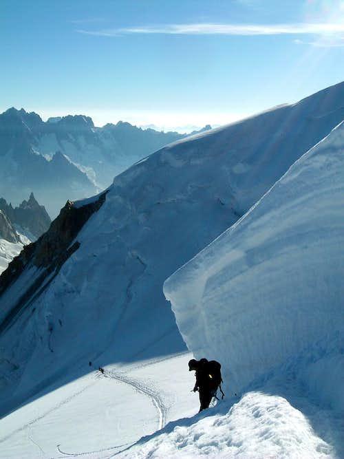 Mont Blanc du Tacul Normal