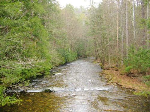 Cataloochee Creek, near the...