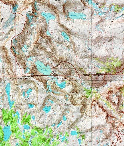 Beartooth Plateau Ridge