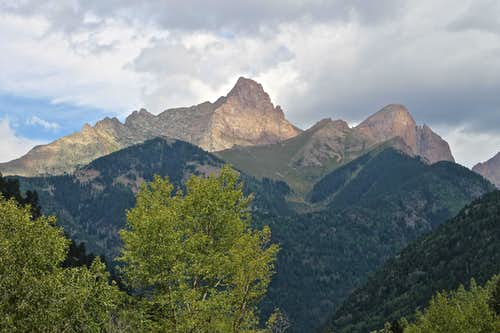 Pigeon and Turret Peaks