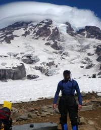 Mount Rainier Lenticular Cloud