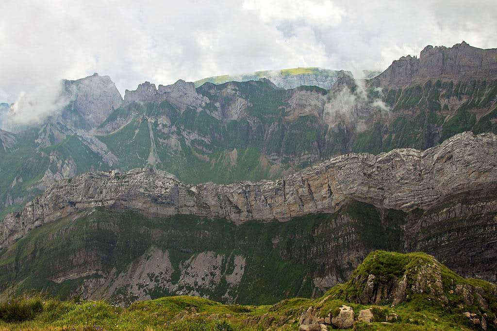 Amazing geology of Alpstein