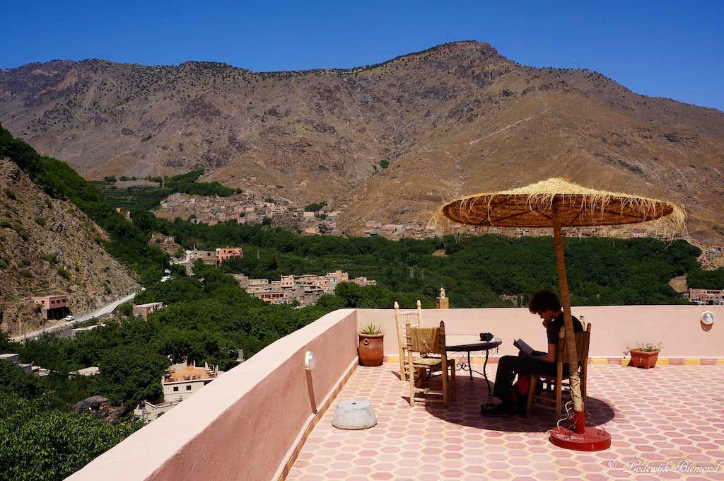 Roof Terrace @ Riad in Imlil
