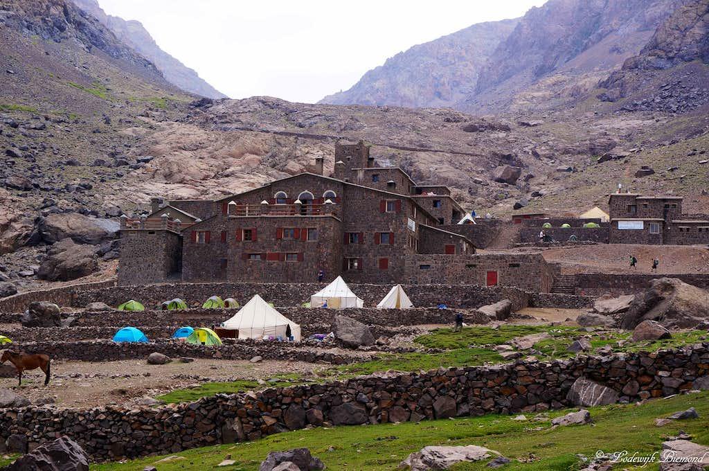 The Toubkal Refuges (3207m)