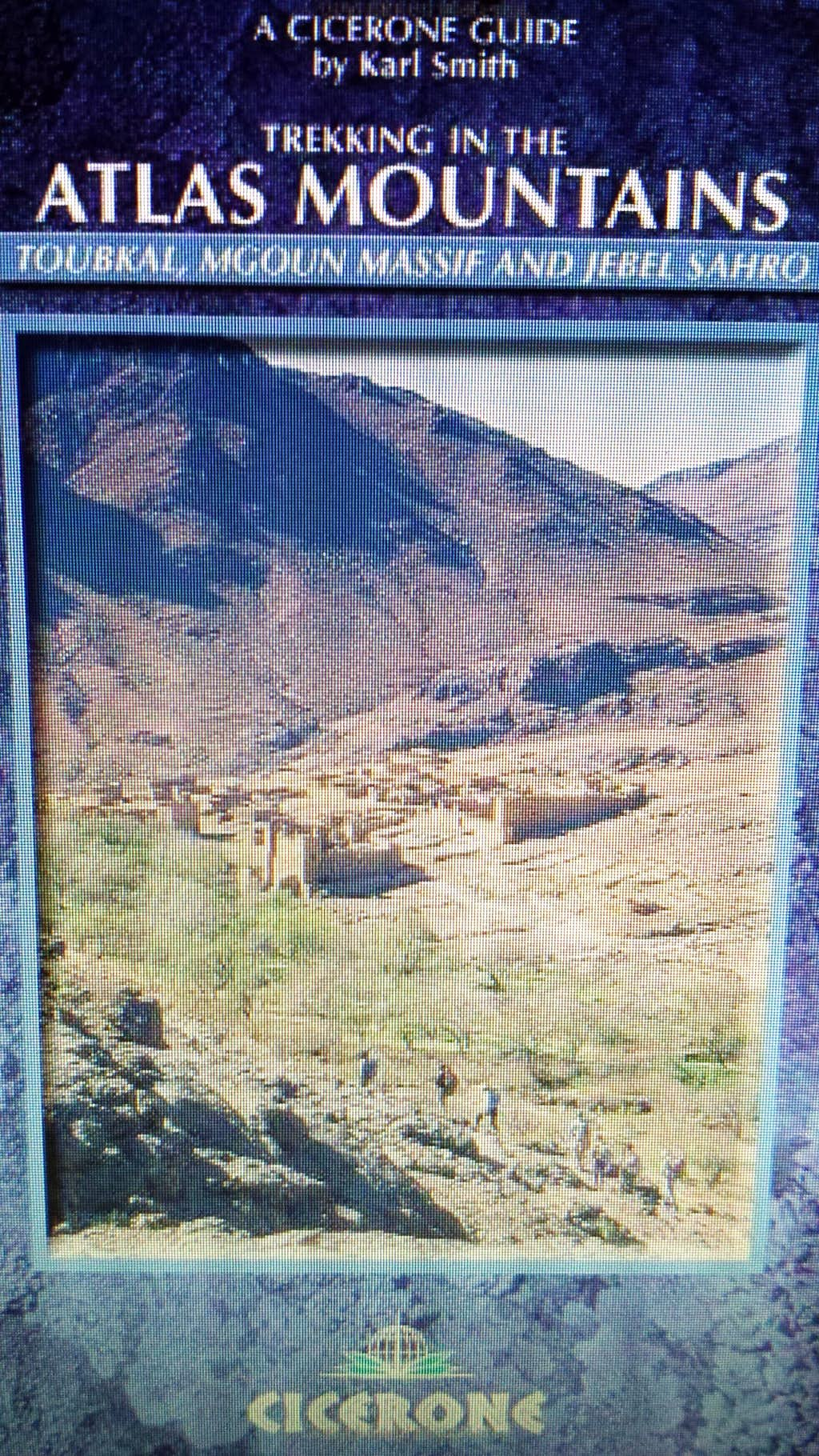 Trekking in the Atlas Mountains by Cicerone