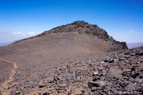 The Imouzzer- Toubkal Saddle