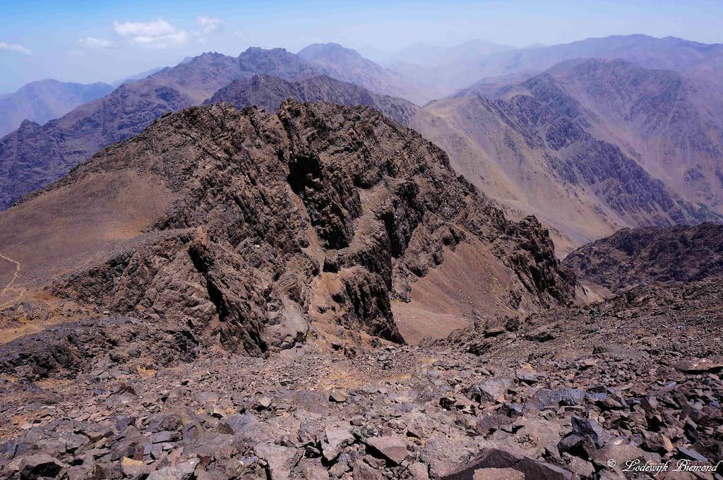 Imouzzer (South Face, 4010m)