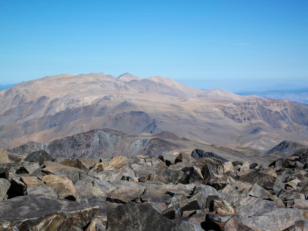 Looking toward Boundary Peak