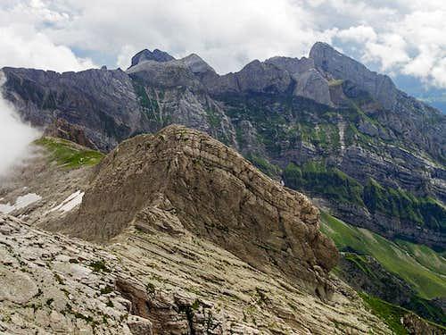 Alpstein summits from Saentis