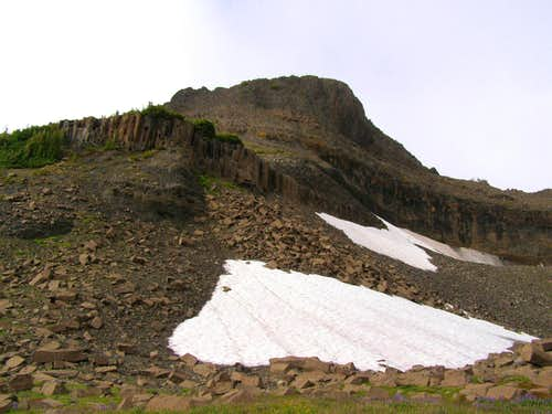Base of the Summit Pinnacle