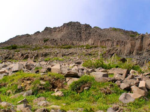 Skirting the first Basalt Band