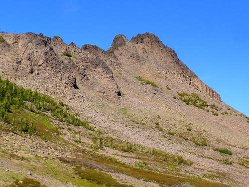 Summit Ridge from the SE