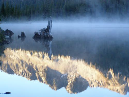 Cold Morning Reflection