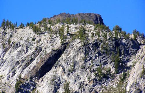 Summit from Lostine