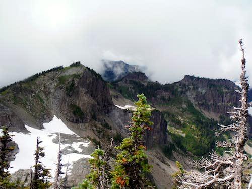 Nearby mountain views