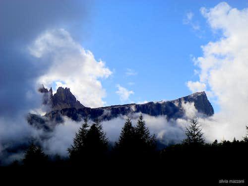 Early morning clearing, Lastoni di Formin