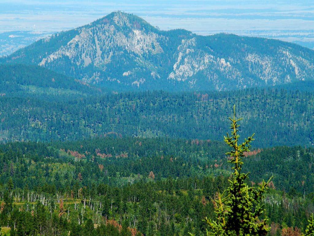 Crow Peak from Terry Peak