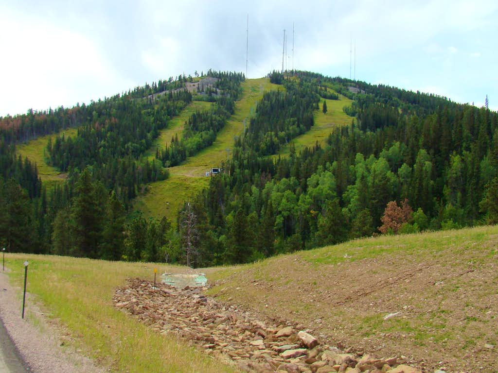 Terry Peak Ski Slopes