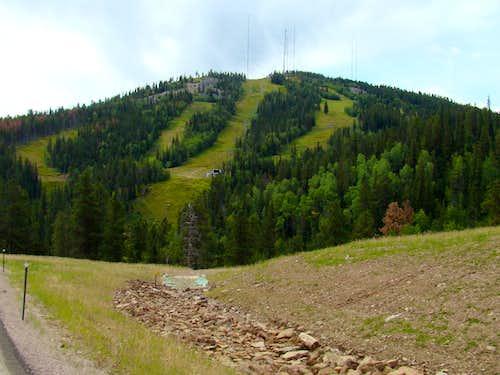 Terry Peak Ski Slopes