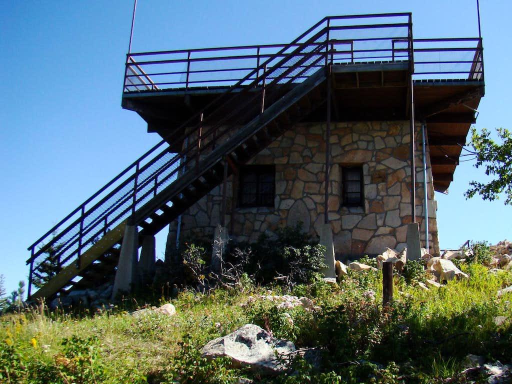 Terry Peak Summit Observation Deck