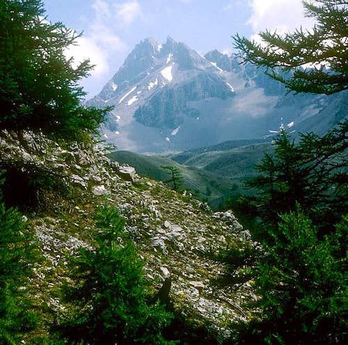 Grand Rochebrune.  Photo...