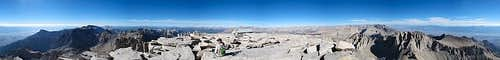 Mt Whitney Summit Panorama