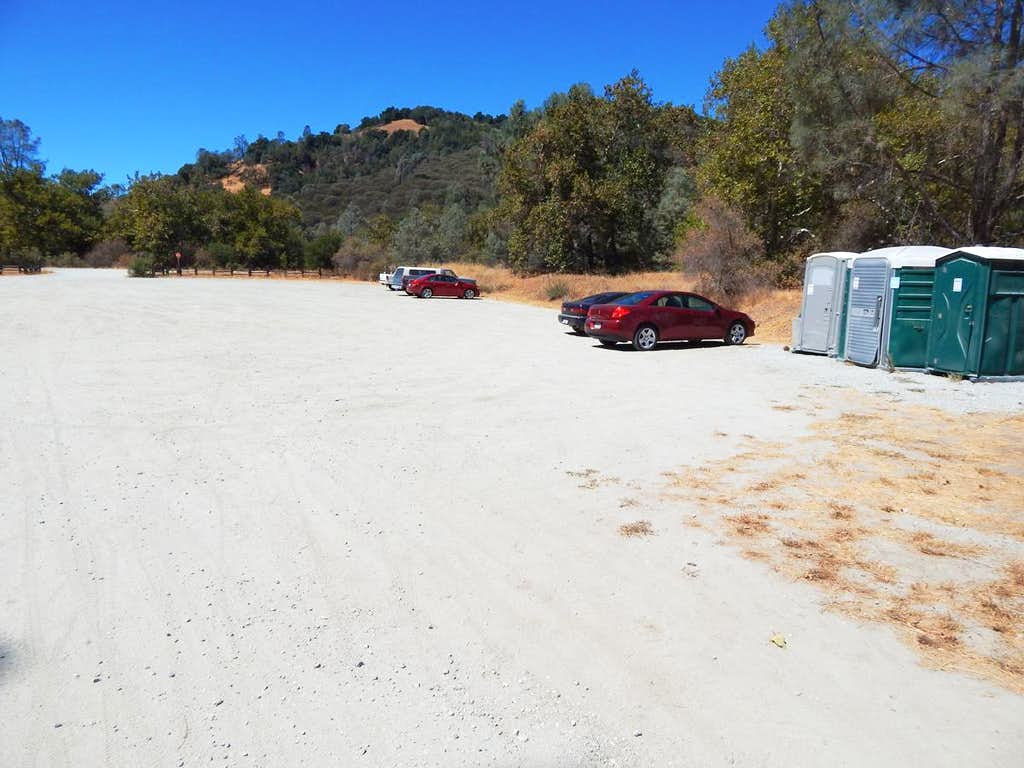 Hunting Hollow Parking Lot- Henry W. Coe State Park