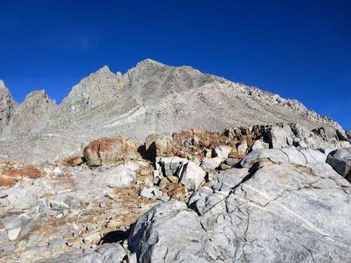 Mt Agassiz via Bishop Pass
