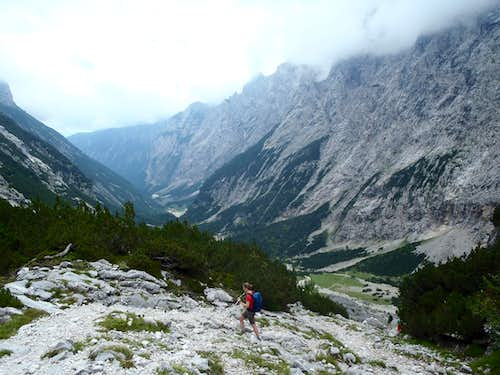 Zugspitze via Reintal Route