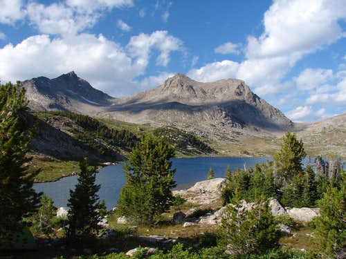 Timico Lake, Bridger Wilderness