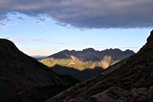 West Needle Mountains - Sunrise