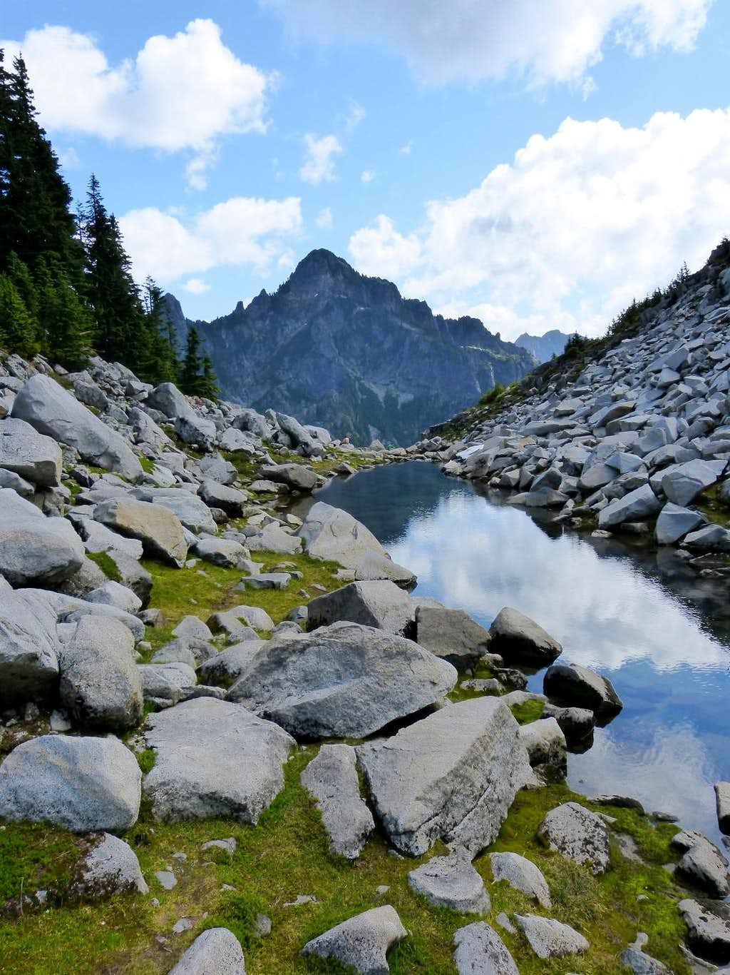 save off 67bad 09ad9 Morning Star Peak from the Lake Elan Outlet : Photos ...