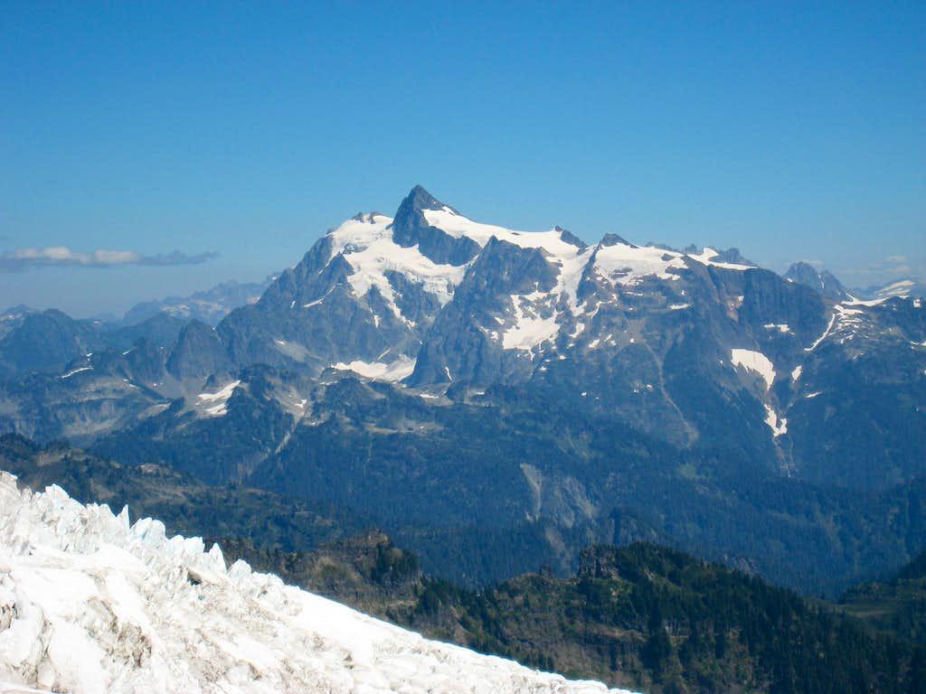 Mount Shuksan from Park Glacier