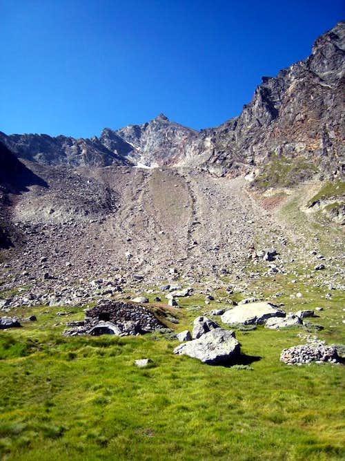 Becca di Salè Bonplan Alp into Arpisson Vallon 2010