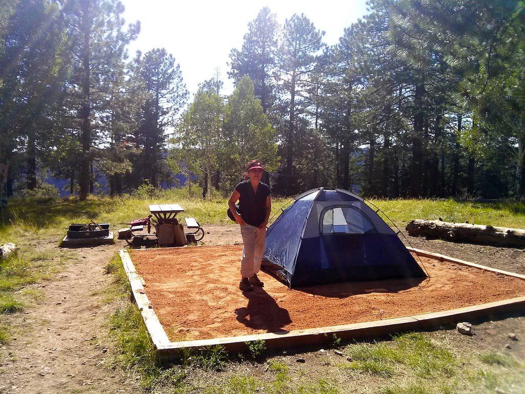 Typical Campsite