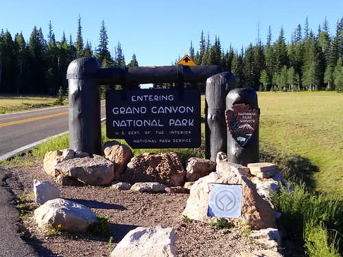 Grand Canyon NR Entrance