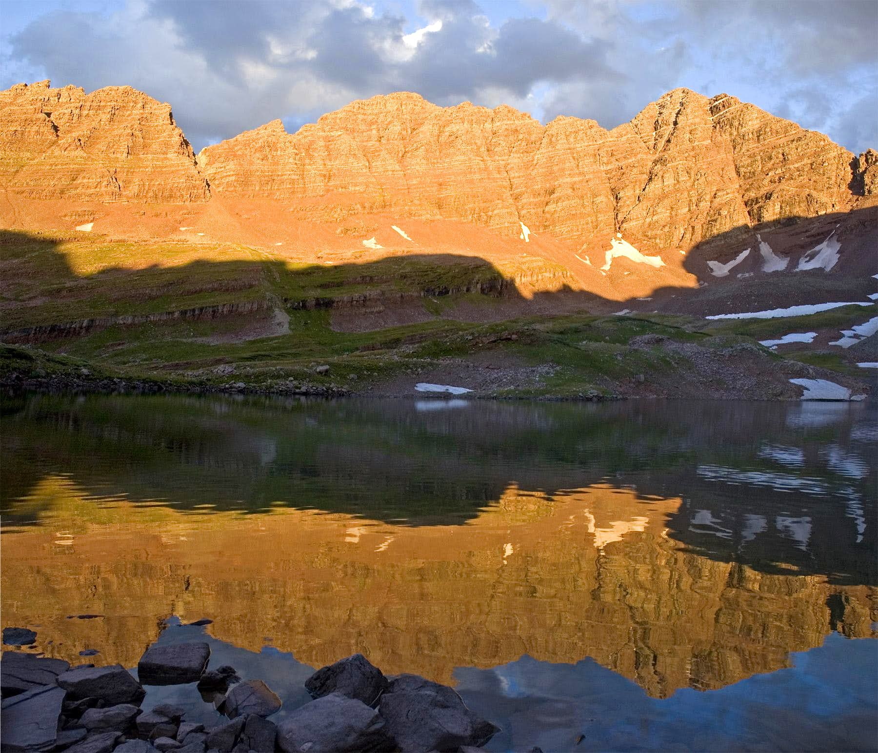Maroon Bells-Snowmass Wilderness - Willow Lake, Lost Remuda Basin, Buckskin Pass