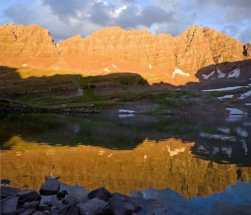 Maroon Bells-Snowmass Wilderness - Willow Lake, Lost Remuda Basin, Buckskin Pass