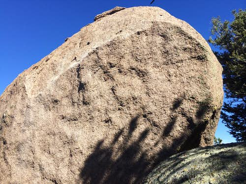 Buckhorn summit boulder