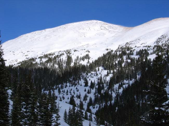 Vasquez Peak from the Jones...