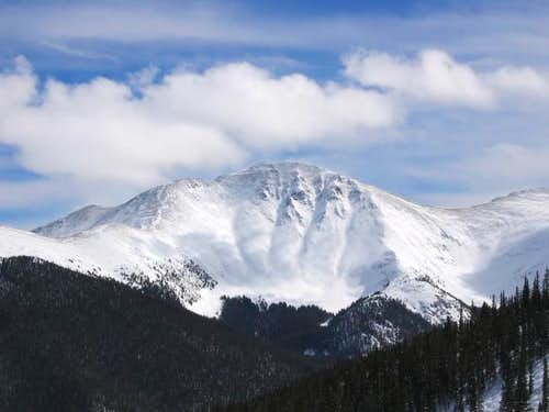 Parry Peak from the summit of...