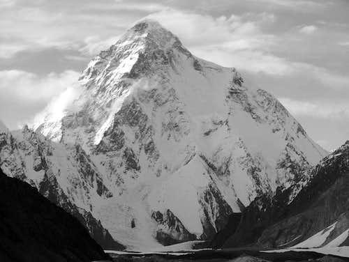 K2, Black & White Photo