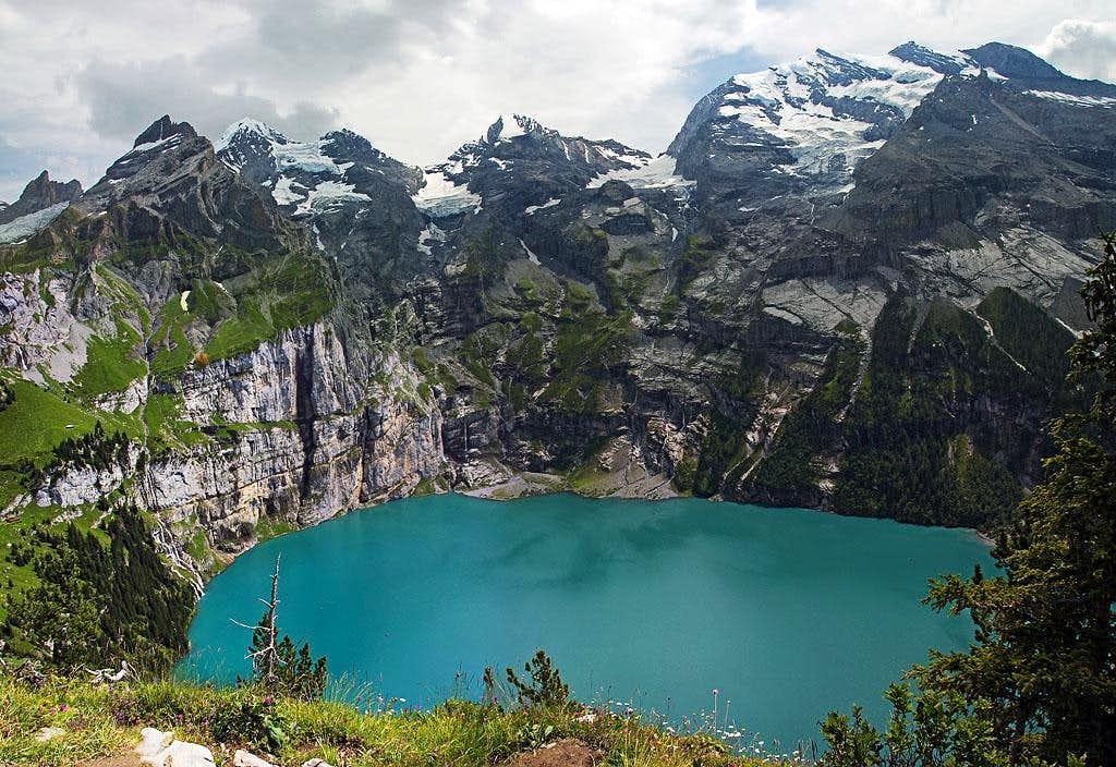 Bluemlisalp above Oeschinensee