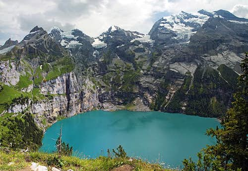 Bluemlisalp above Oeschinensee