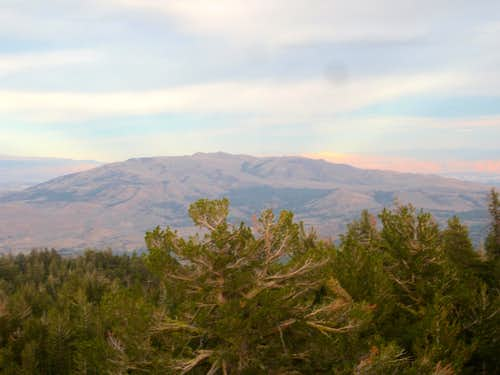 Peavine as Seen From Babbitt Peak