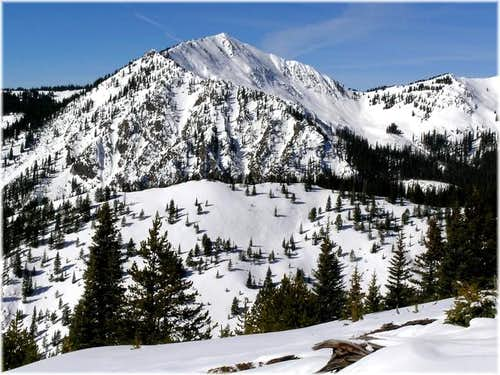 Bald Mountain-12,136-ft from...