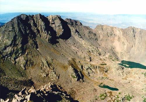 The Eagles Nest. Cliff Lake...