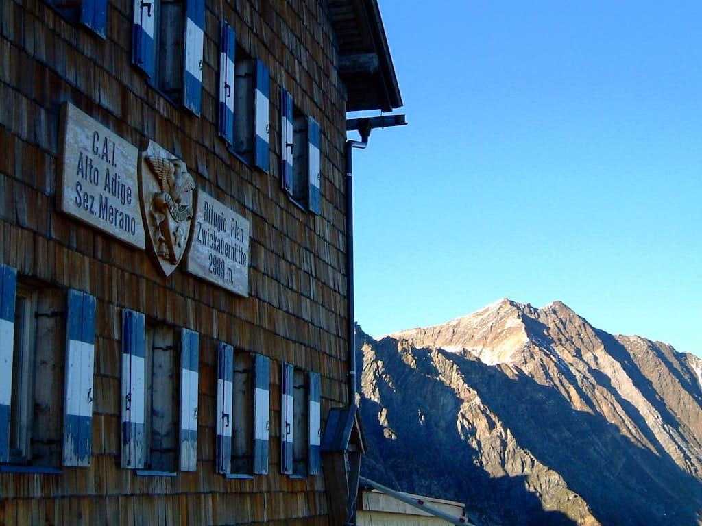 Rifugio Plan (Zwickauer Hütte - 2979 m)