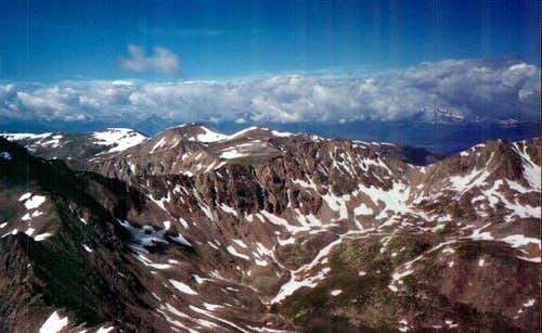 Mt Bross from summit of Mt...